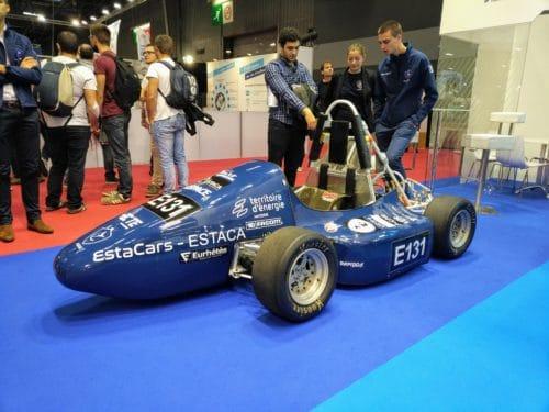Le projet ESTACARS au Paris Mondial Motor Show avec Eurhetes